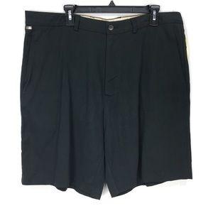 Tommy Bahama Black Flying Fishbone Shorts